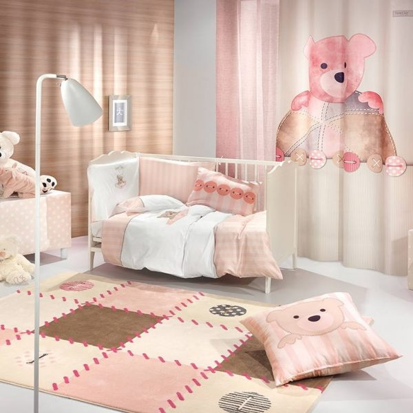 ΚΟΥΡΤΙΝΑ SAINT CLAIR 160X250 TEDDY ROSE