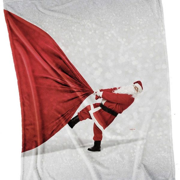 Χριστουγεννιάτικη Κουβέρτα Καναπέ