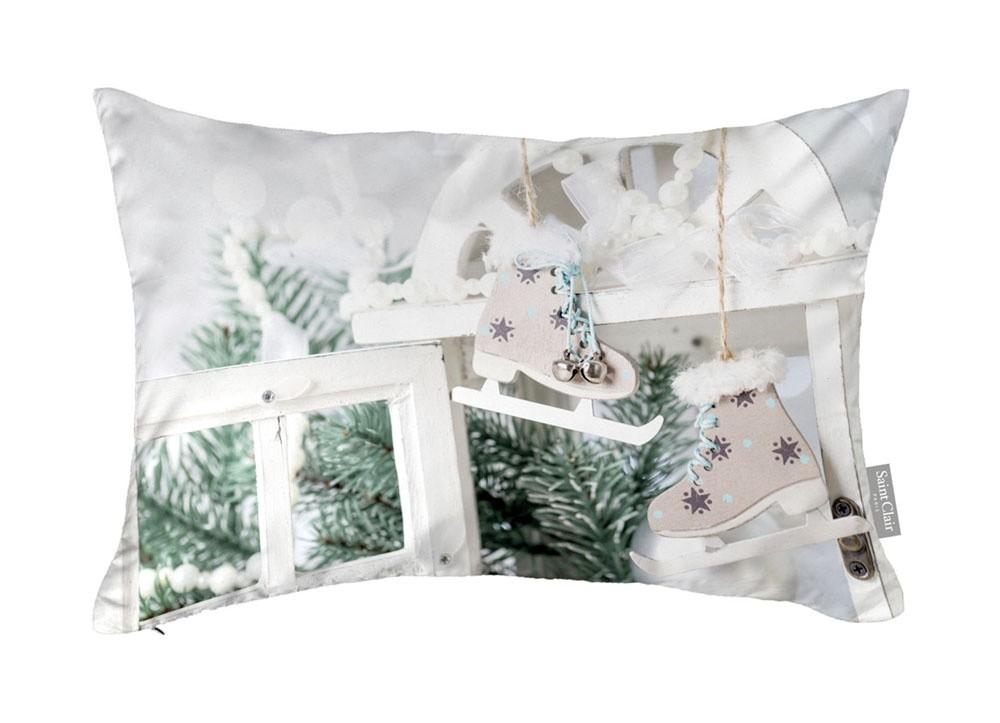 Χριστουγγενιάτικο Μαξιλάρι 30x45 Saint Clair 4012