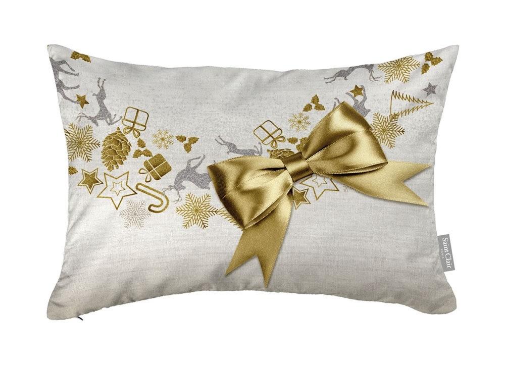 Χριστουγγενιάτικο Μαξιλάρι 30x45 Saint Clair 4013