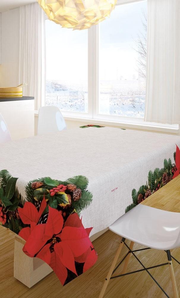 Χριστουγγενιάτικο Τραπεζομάντηλο 145x180 Saint Clair 2024