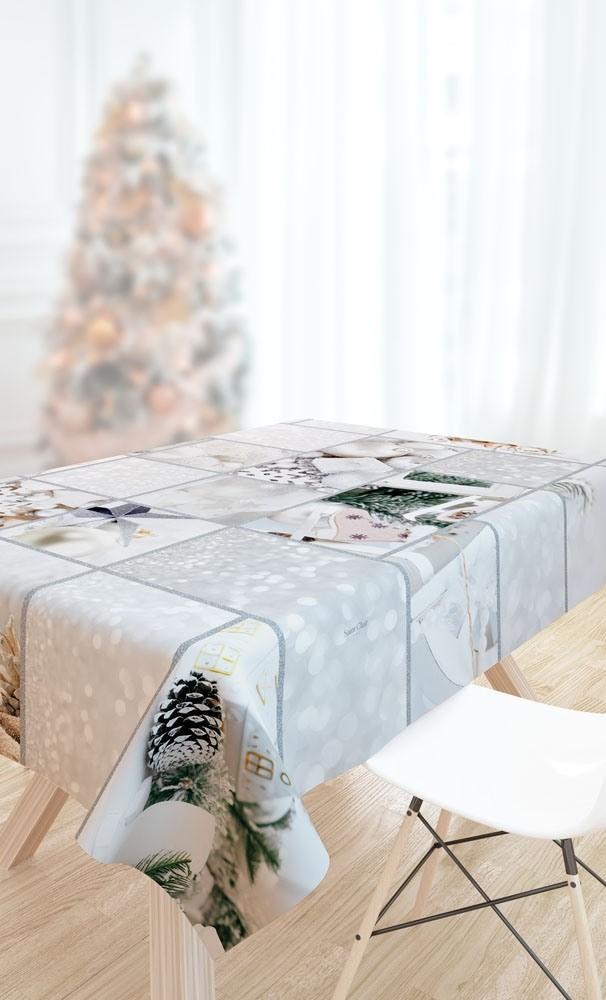 Χριστουγγενιάτικο Τραπεζομάντηλο 145x180 Saint Clair 2031