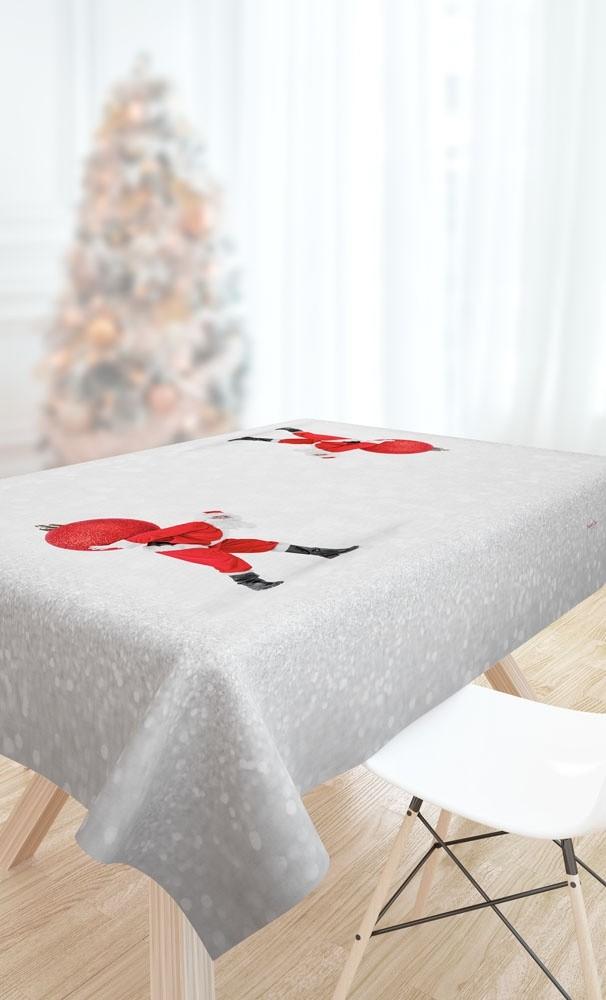 Χριστουγγενιάτικο Τραπεζομάντηλο 145x145 Saint Clair 2029