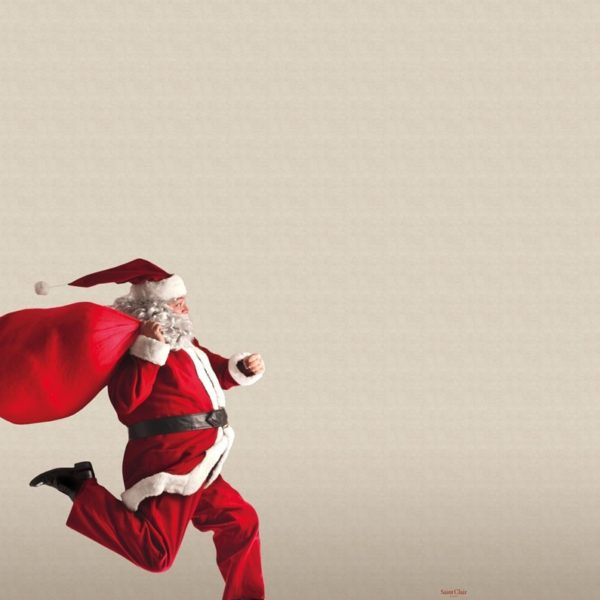 ΧΡΙΣΤΟΥΓΕΝΝΙΑΤΙΚΕΣ ΒΕΛΟΥΤΕ ΚΟΥΒΕΡΤΕΣ 160x220 SAINT CLAIR CHRISTMAS ULTRA SOFT 5002