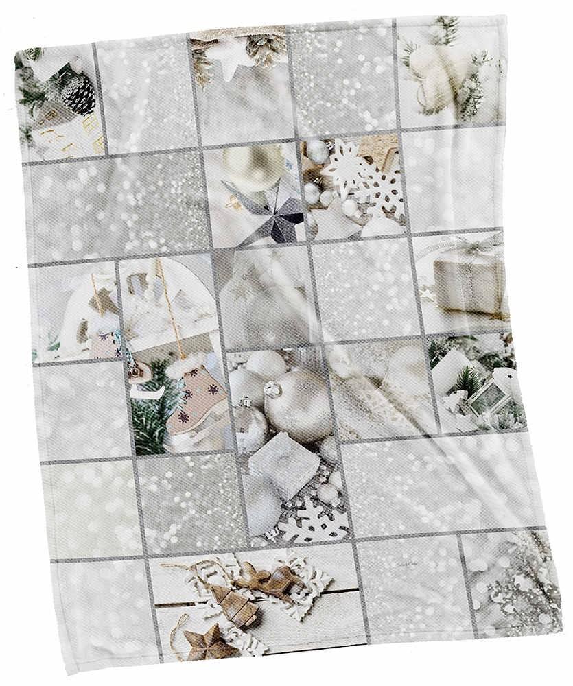 Χριστουγγενιάτικες Κουβέρτες Καναπέ 110x140 Saint Clair Christmas Ultra Soft 5001