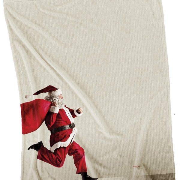 ΧΡΙΣΤΟΥΓΕΝΝΙΑΤΙΚΕΣ ΚΟΥΒΕΡΤΕΣ ΚΑΝΑΠΕ 110x140 SAINT CLAIR CHRISTMAS ULTRA SOFT 5002