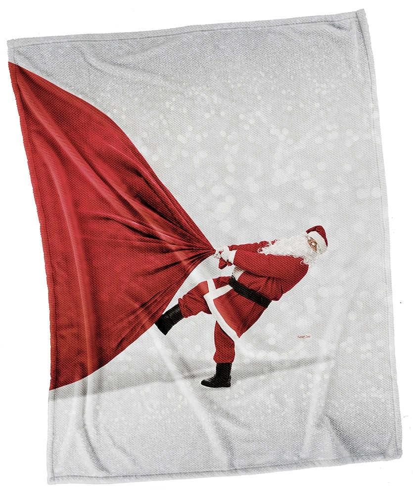 Χριστουγγενιάτικες Κουβέρτες Καναπέ 110x140 Saint Clair Christmas Ultra Soft 5005