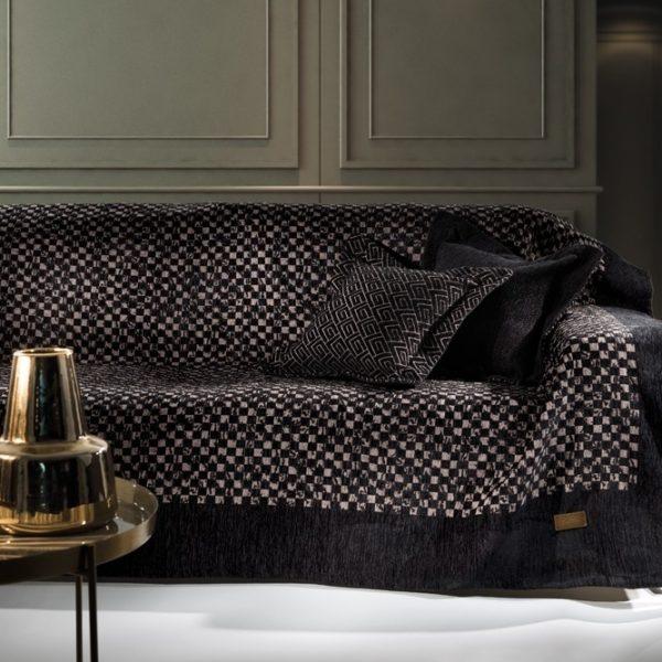 Διακοσμητική Μαξιλαροθήκη (50x50) Guy Laroche Pouat Black