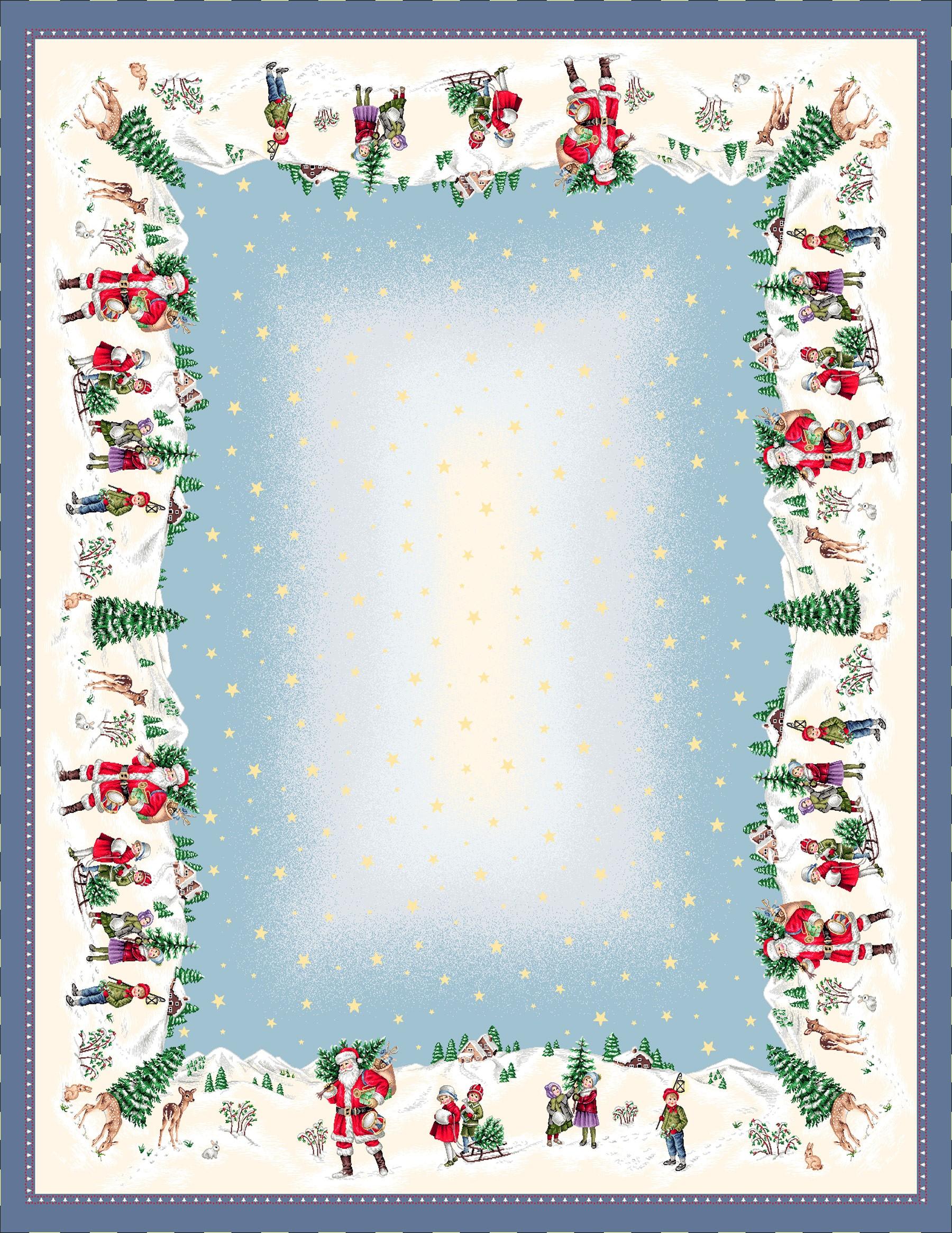 Χριστουγεννιάτικο Τραπεζομάντηλο 140x240 Cosmin Joy Silver 246