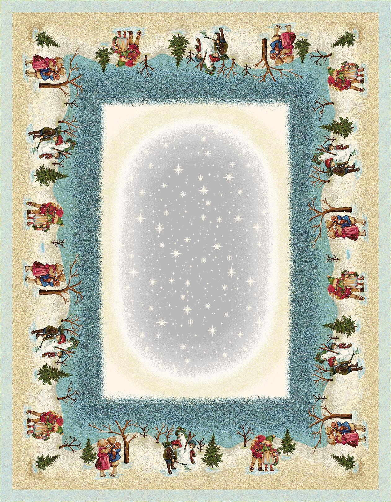 Χριστουγεννιάτικο Τραπεζομάντηλο 140x240 Vassiliadis Valen Kiss