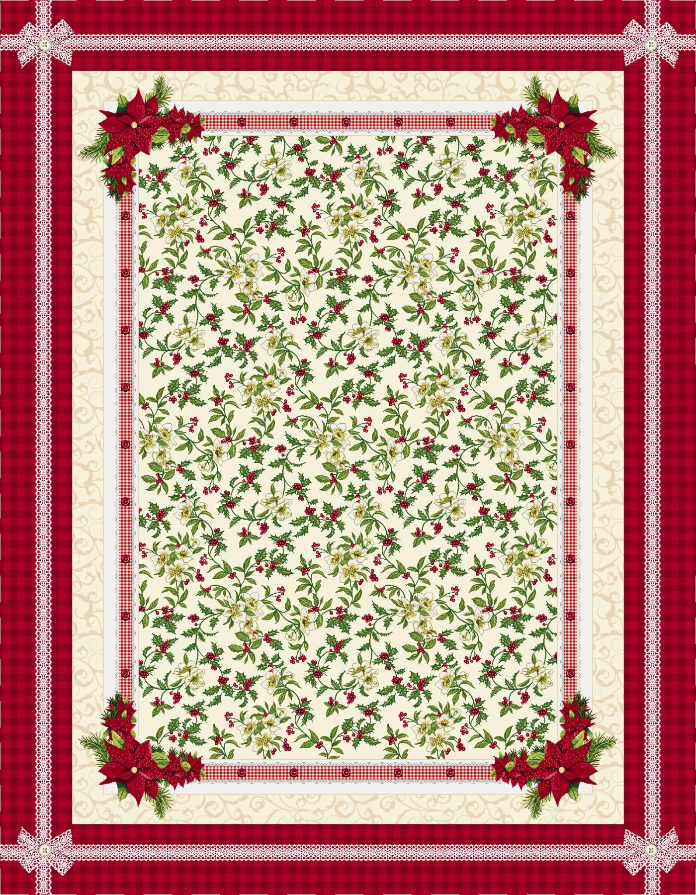 Χριστουγεννιάτικο Τραπεζομάντηλο 140x240 Cosmin Veneto