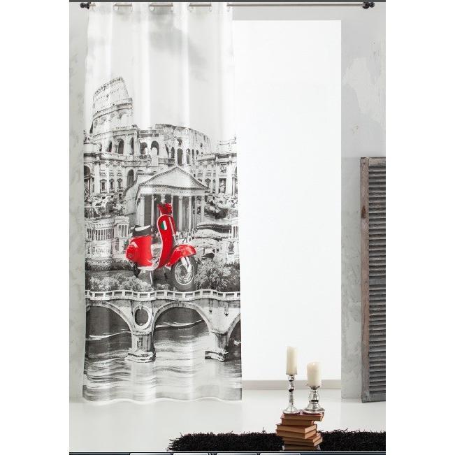 Κουρτίνα Με Τρουκς 150×260 Vassiliadis Roma