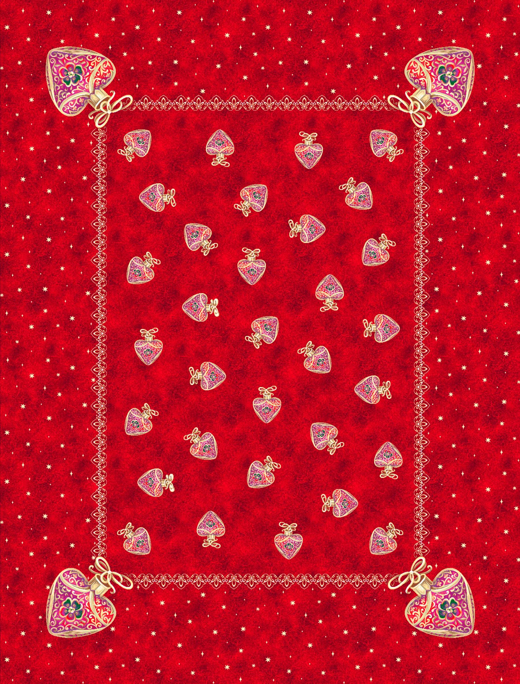 Χριστουγεννιάτικο Τραπεζομάντηλο 140x180 Vassiliadis 668