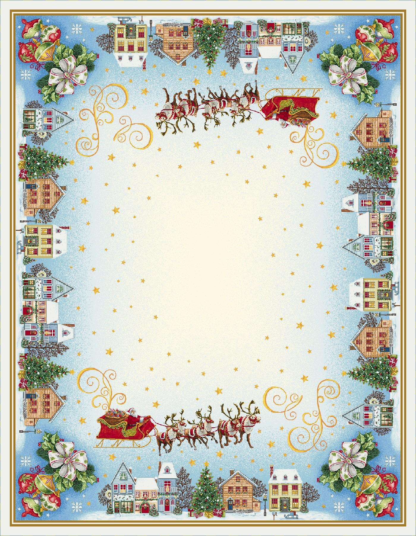 Χριστουγεννιάτικο Τραπεζομάντηλο 140x180 Vassiliadis Comet