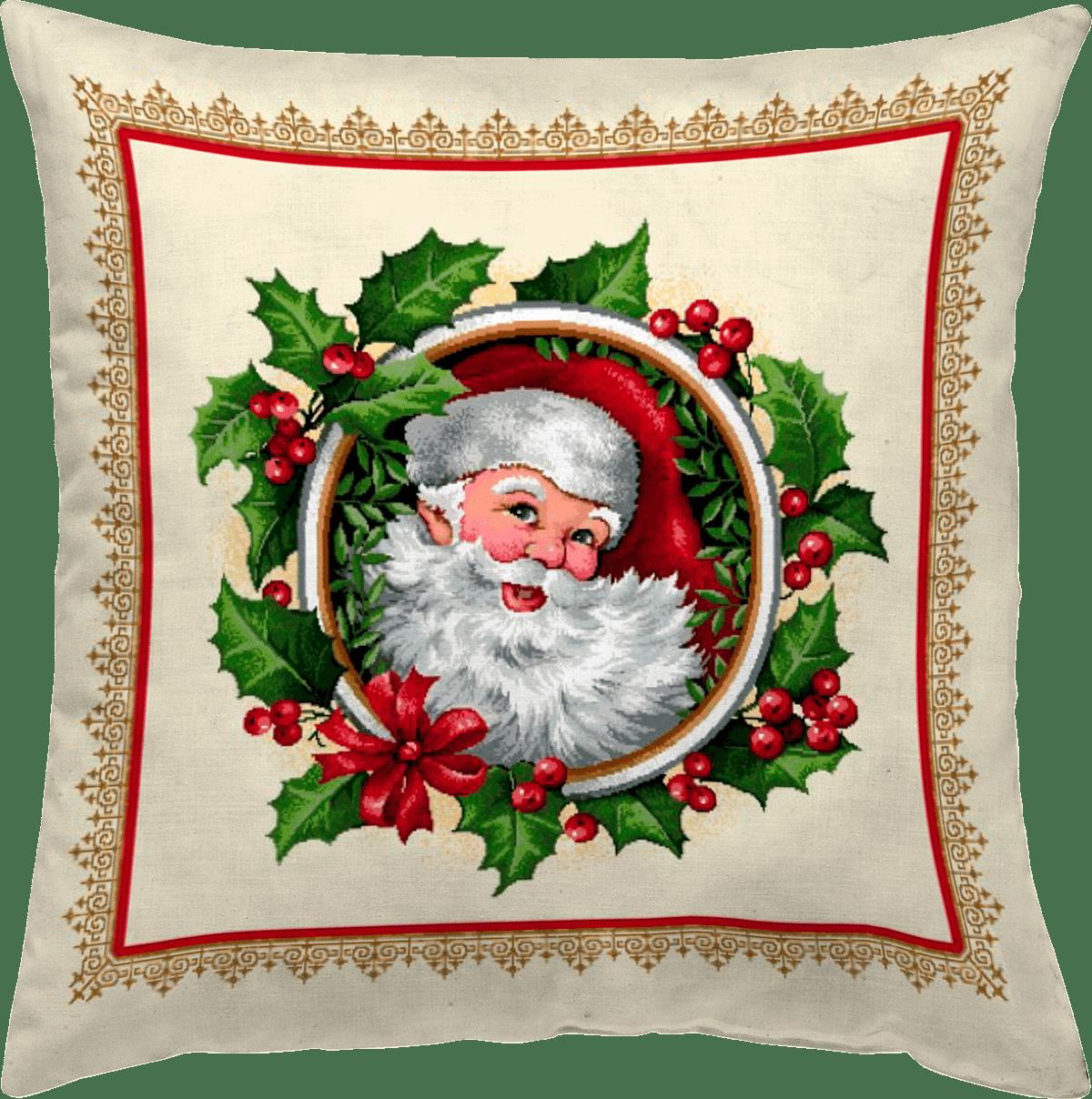 Χριστουγεννιάτικη Μαξιλαροθήκη 45x45 Vassiliadis Life 486