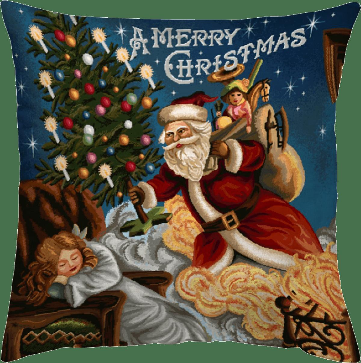 Χριστουγεννιάτικη Μαξιλαροθήκη 45x45 Vassiliadis Nadal 2