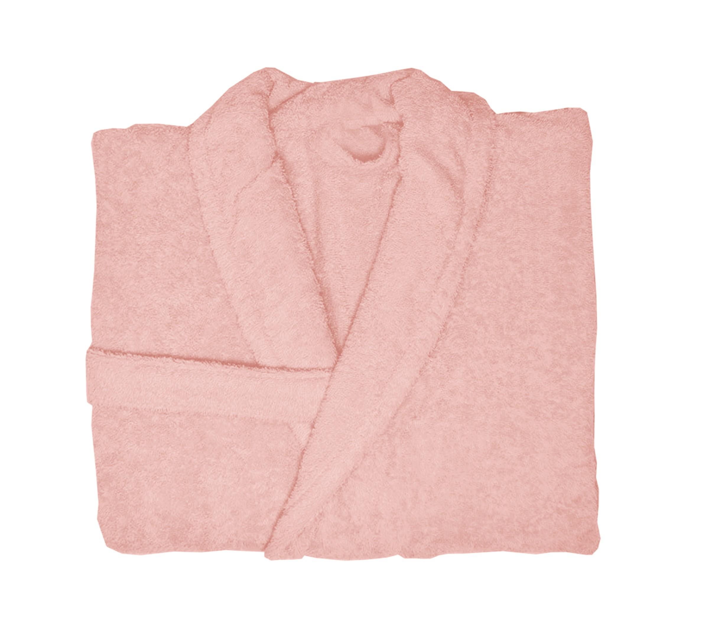 Μπουρνούζι Με Γιακά Nef Nef Status Powder Pink