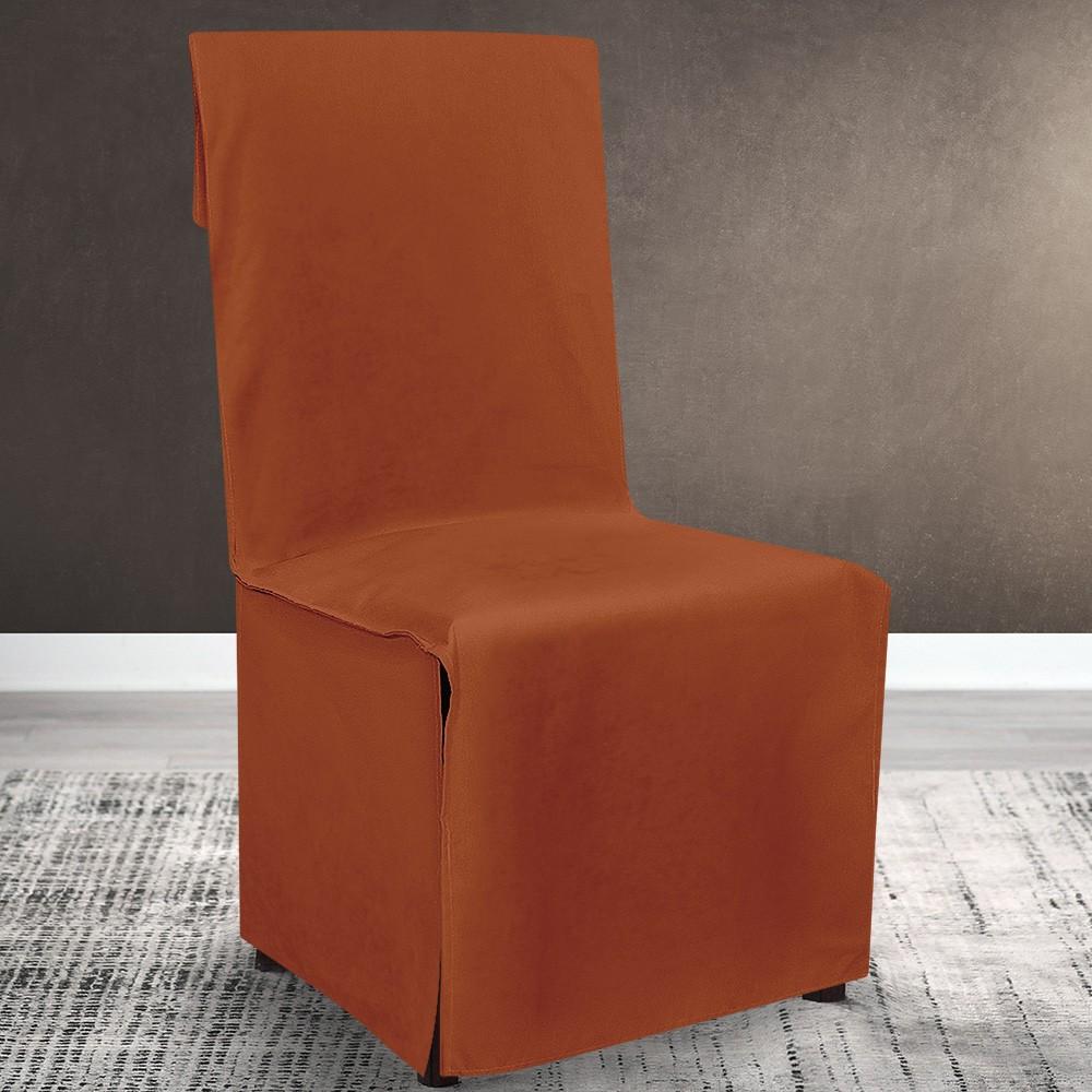 Κάλυμμα Καρέκλας Lino Home Renas Terracota 107