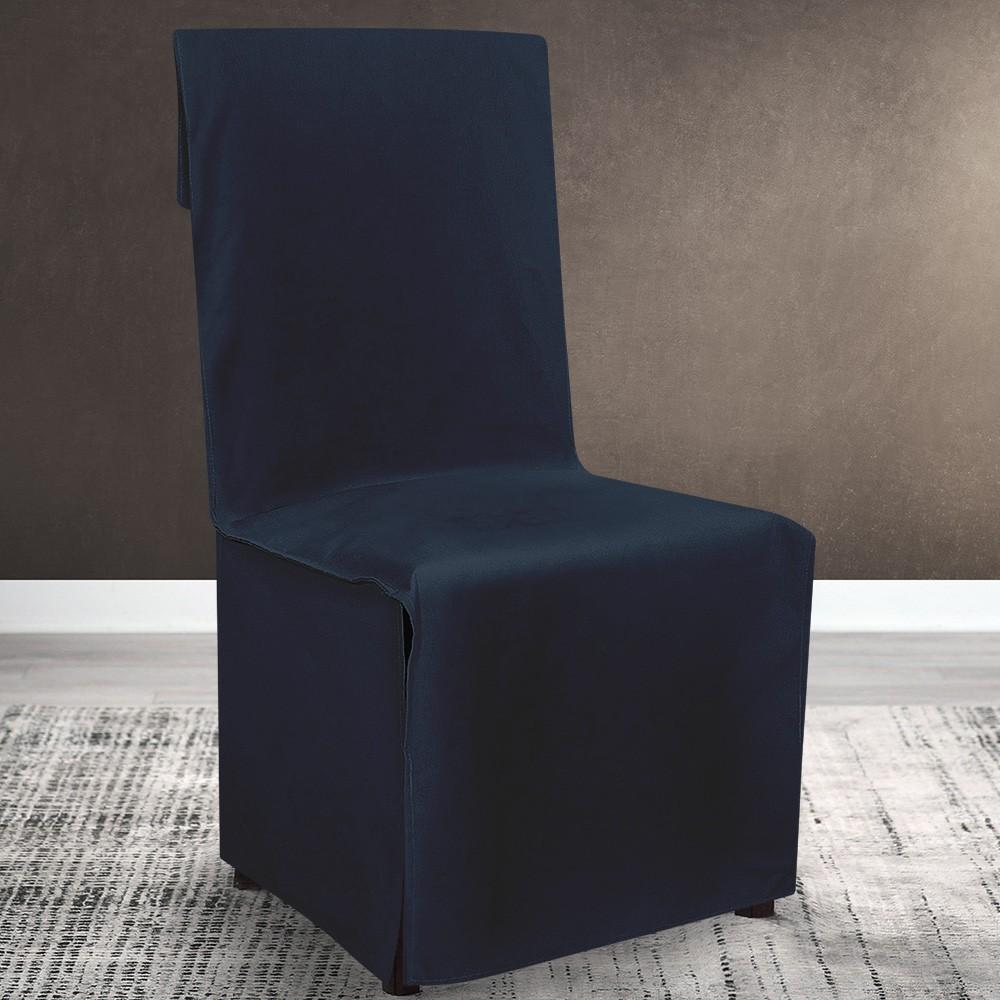 Κάλυμμα Καρέκλας Lino Home Renas D Blue 206