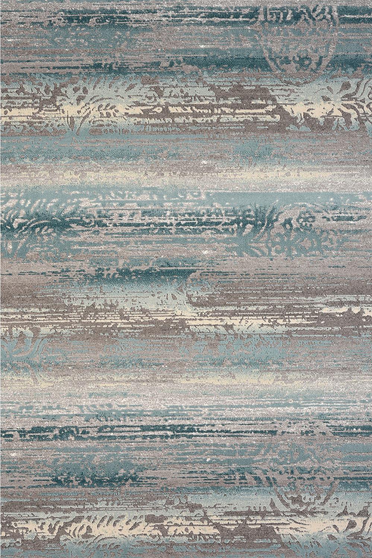 Μοντέρνο χαλί γαλάζιο γκρι Thema 5143/930 - 2,50x3 Colore Colori